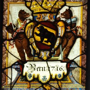 Stained glass in the canton of Berne